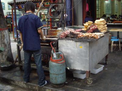 Comida callejera en Xian