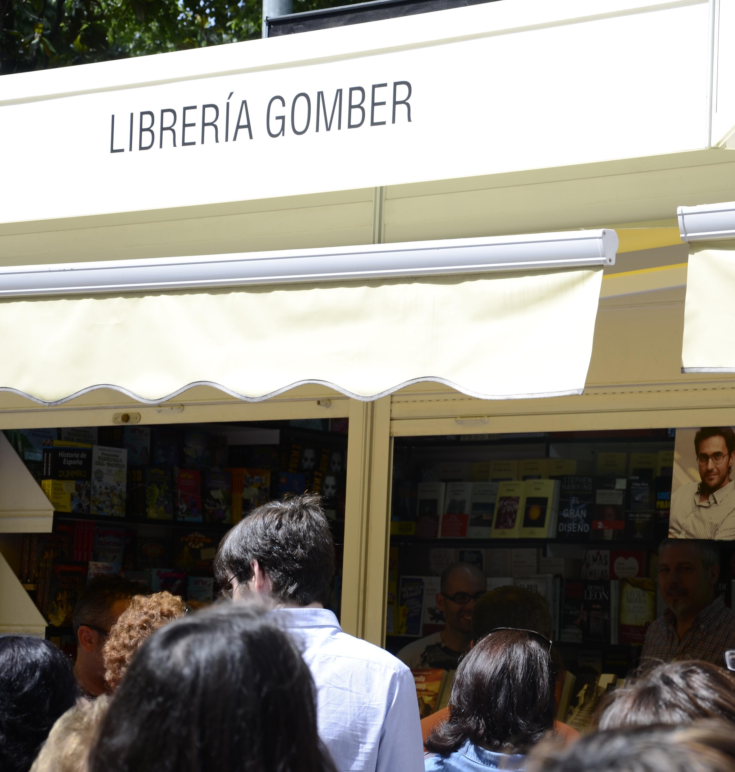 Librería Gomber Madrid