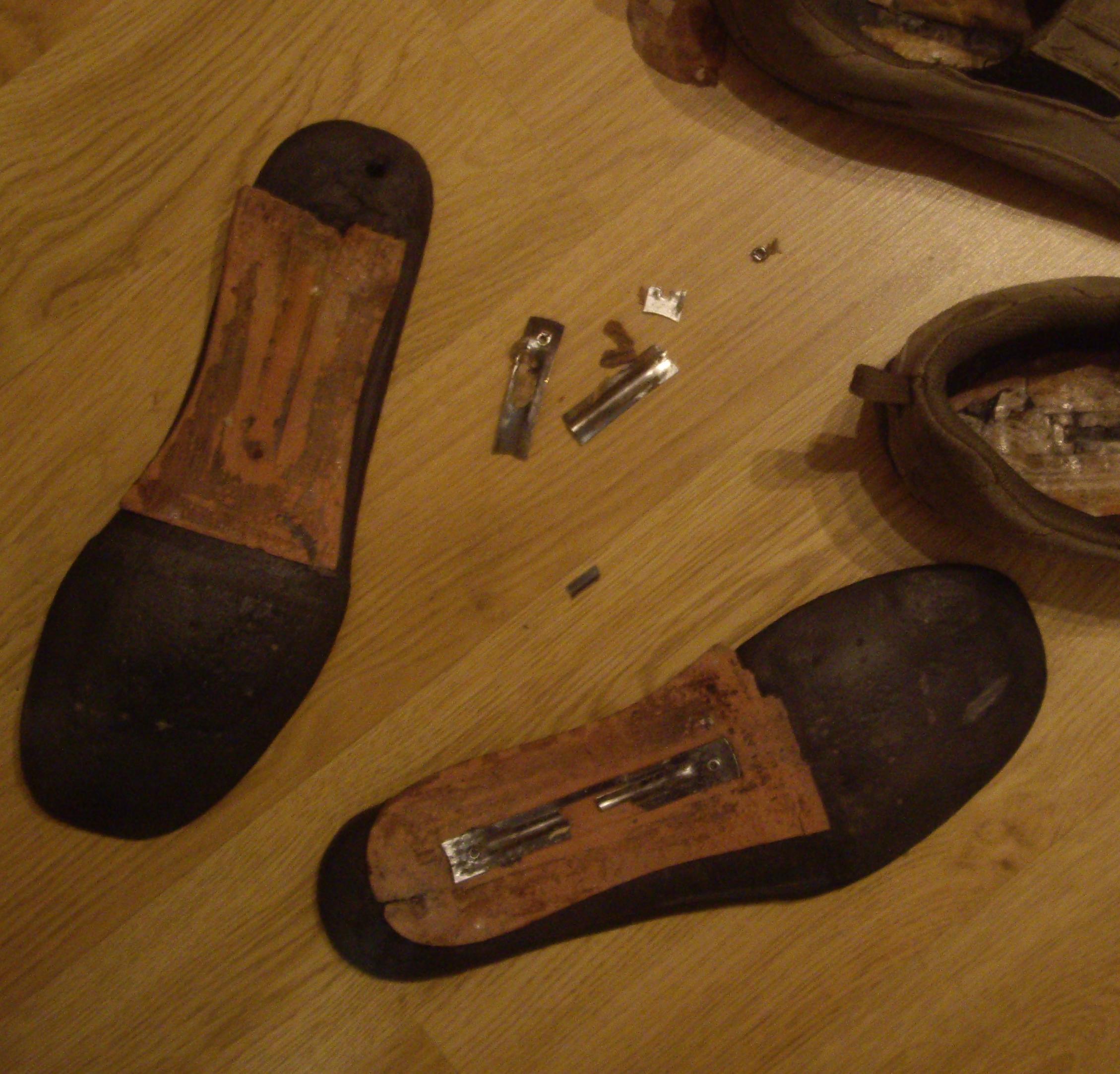 obsolescencia en zapatillas