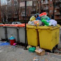 los residuos no se reciclan en el contenedor amarillo