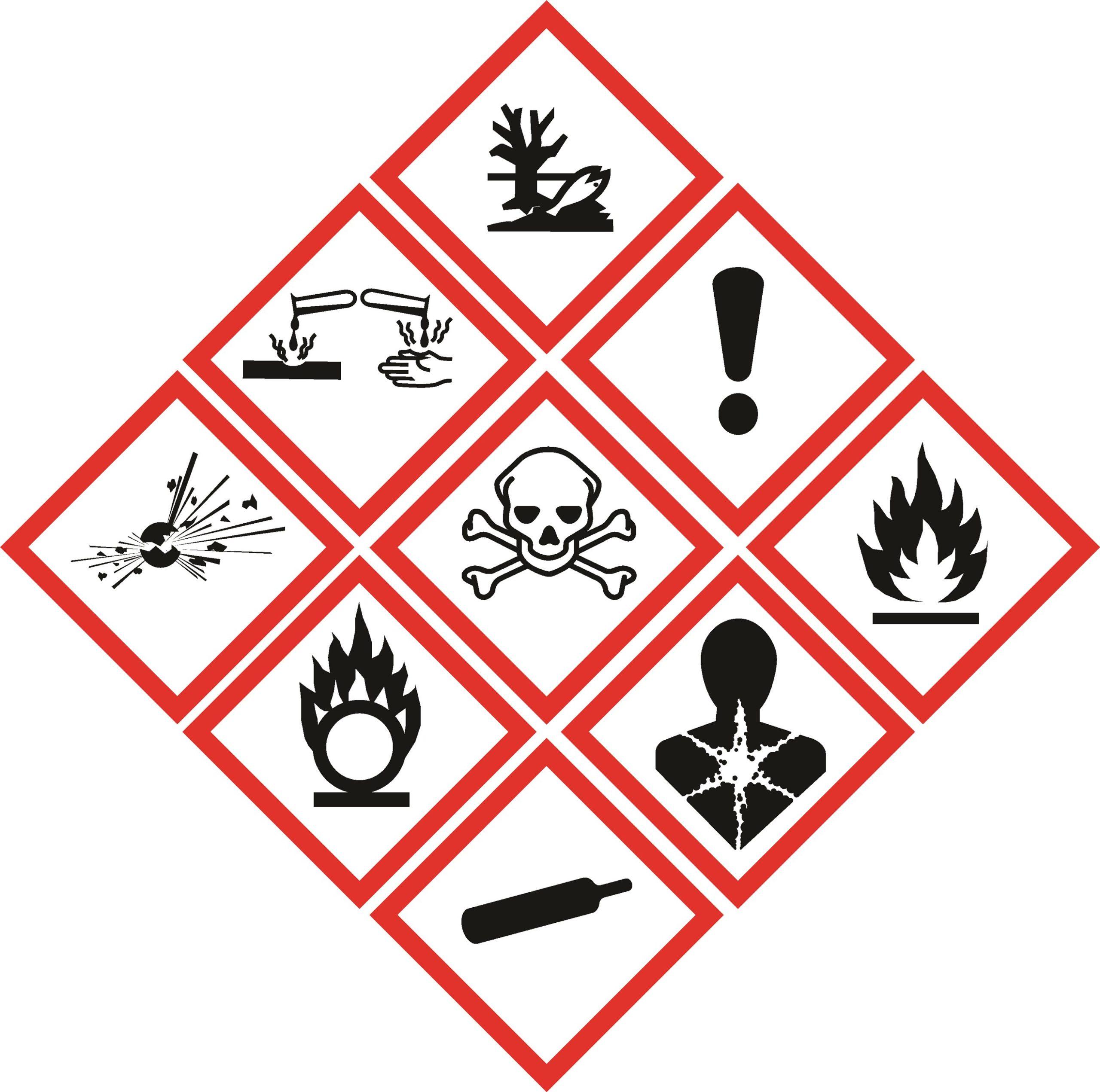 Nuevos pictogramas para el etiquetado de residuos peligrosos - productor de  sostenibilidad