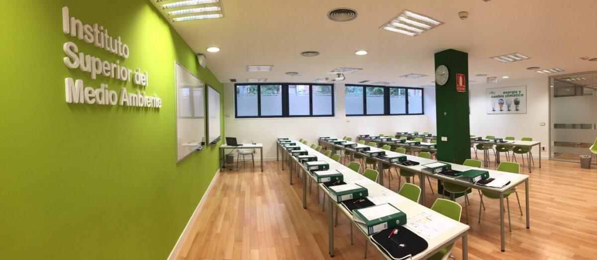 aula instituto superior del medio ambiente ism