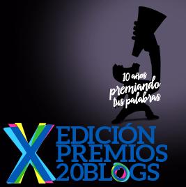 Premios 20 blogs X edición