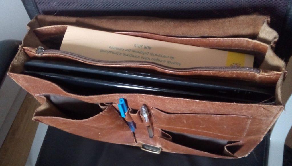 maletín adr portátil