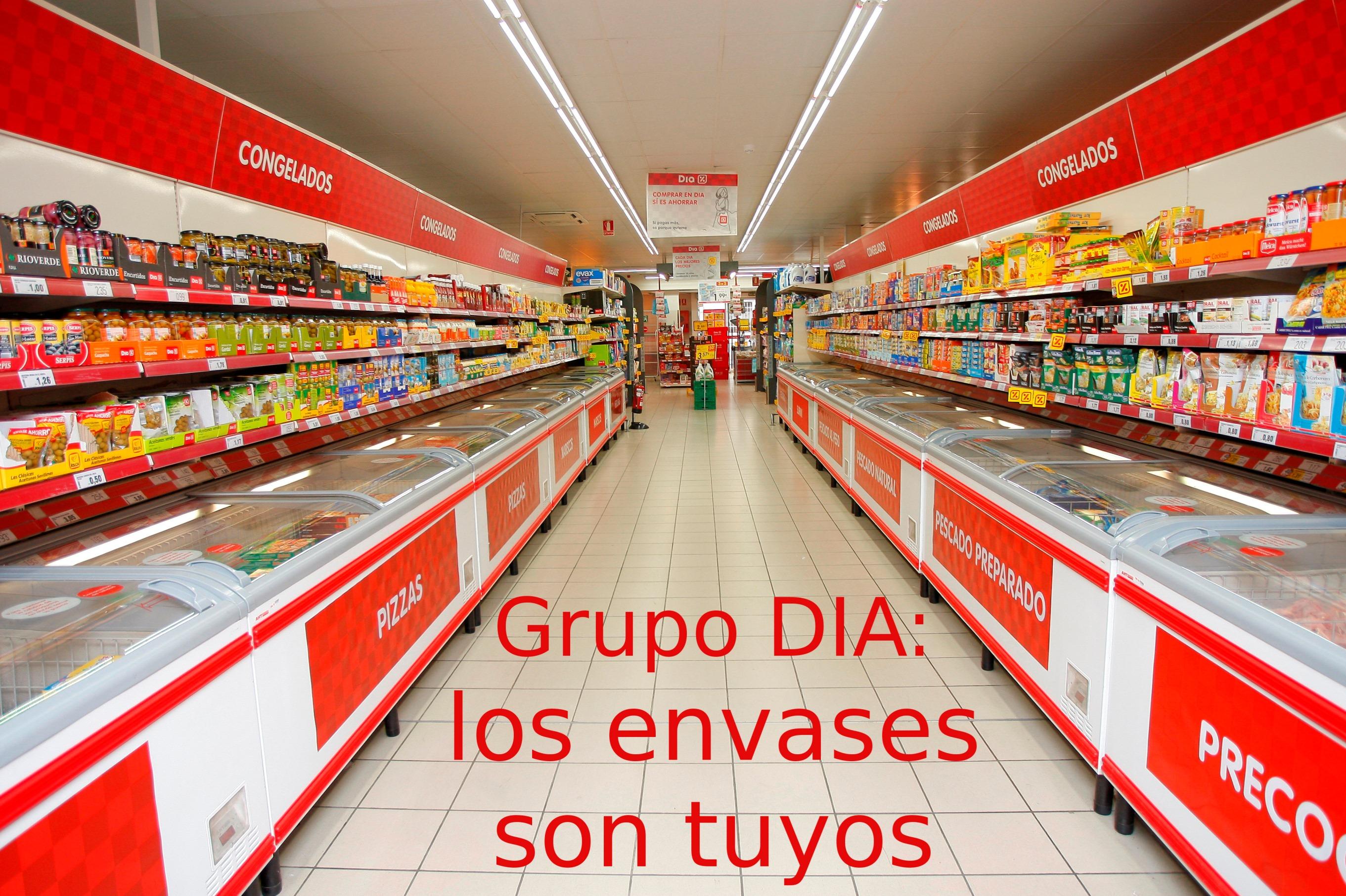 Grupo DIA: los envases son tuyos