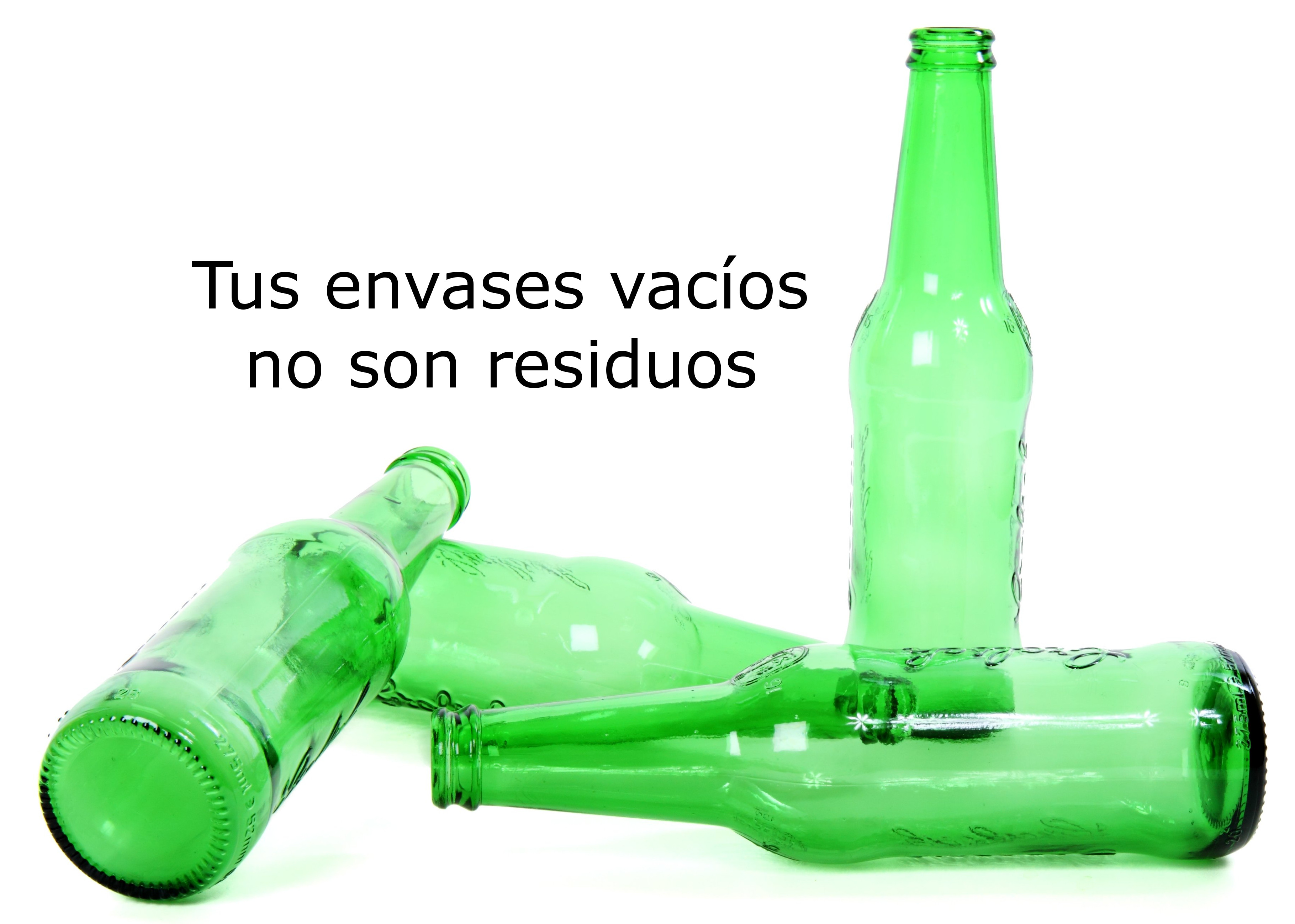 Tus envases vacíos no son residuos