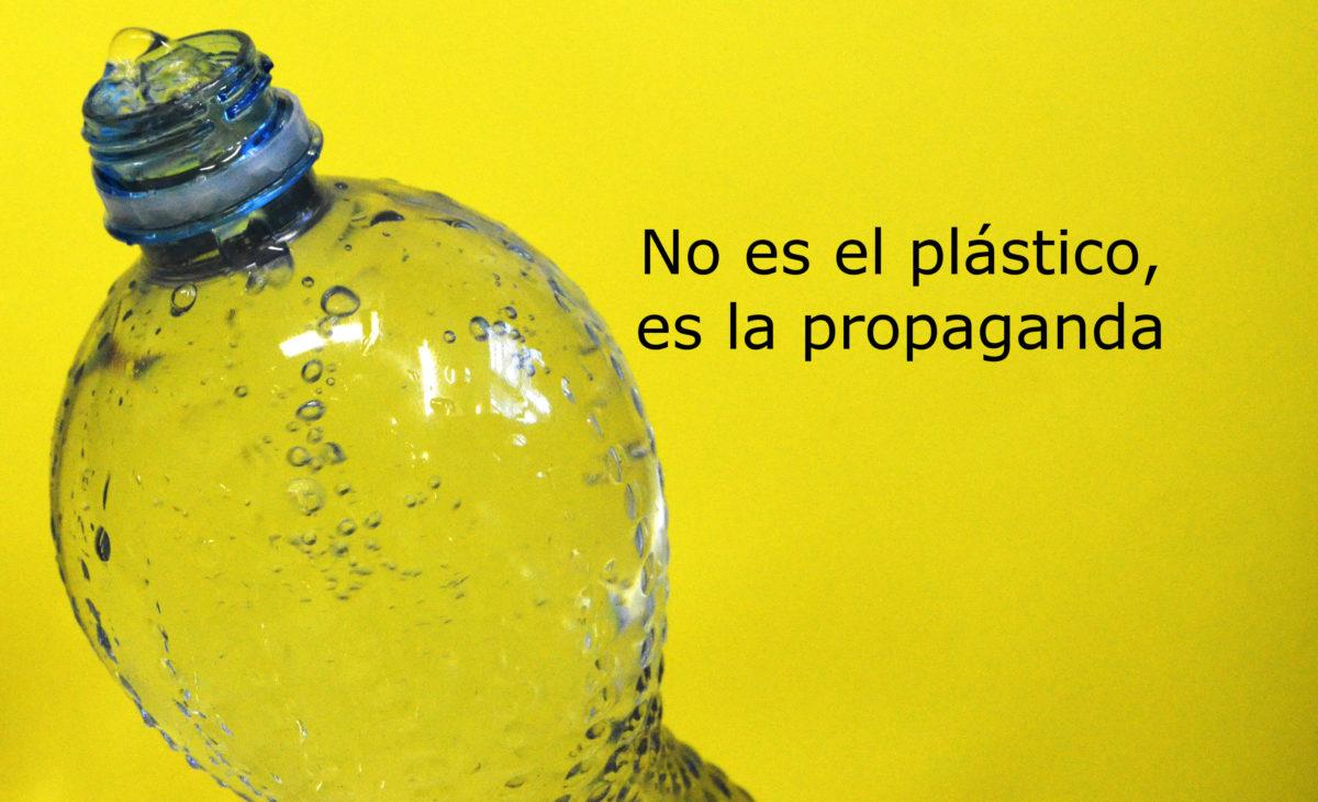 No es el plástico, es la propaganda