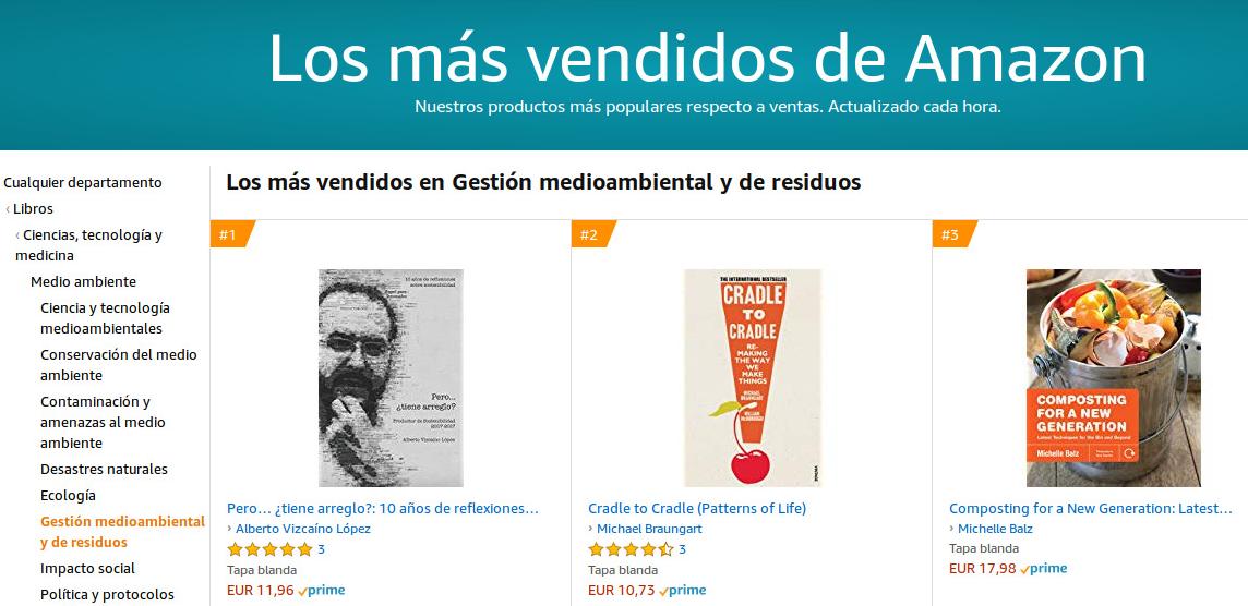 Libro de sostenibilidad más vendido en amazon