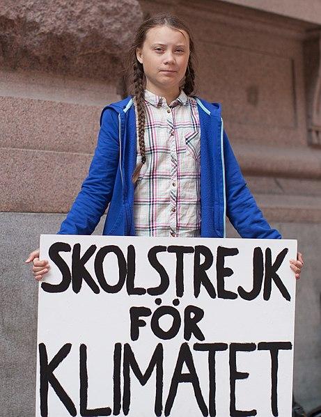 Greta Thunberg por Anders Hellberg