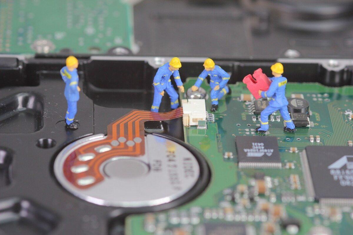 Trabajadores en la brecha digital