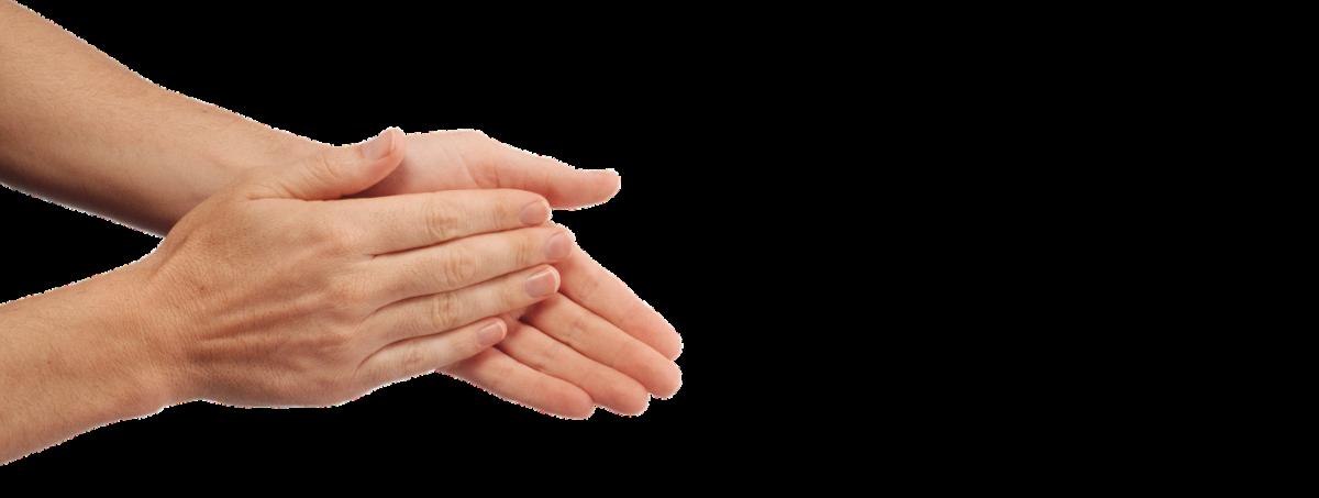 manos aplaudiendo