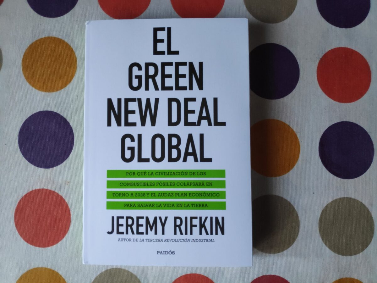 Portada del libro Green New Deal de Jeremy Rifkin